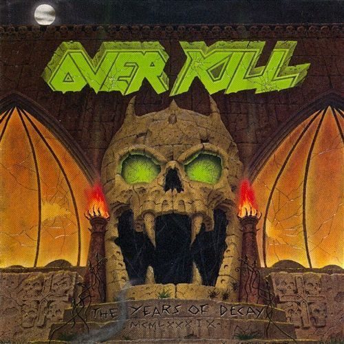 Overkill - the years of decay [cd] marki Warner music group