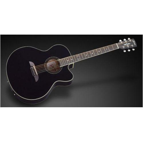 fj 14 s bk ce - solid black high polish + eq gitara elektroakustyczna marki Framus