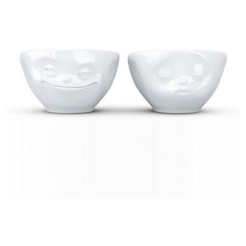 Fiftyeight products Zestaw 2 miseczek do dipów szczęśliwe buźki tassen 2x100ml