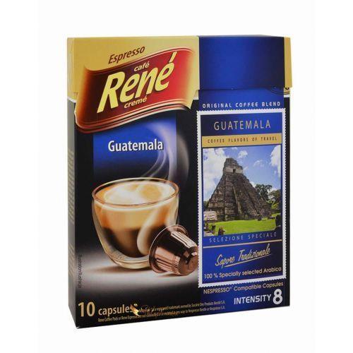 Rene Guatemala kapsułki do Nespresso – 10 kapsułek