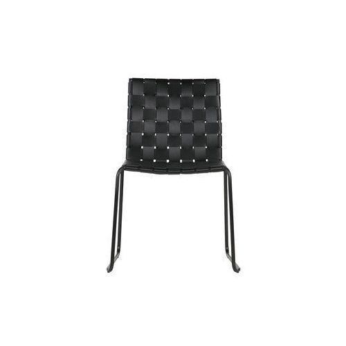 Be Pure Krzesło Icon skórzane, czarne 800726-Z, kolor czarny
