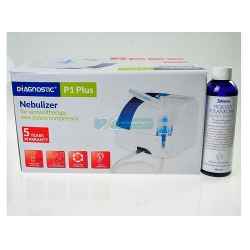 Inhalator DIAGNOSTIC P1 Plus kompresorowy tłokowy 1 sztuka (inhalator)