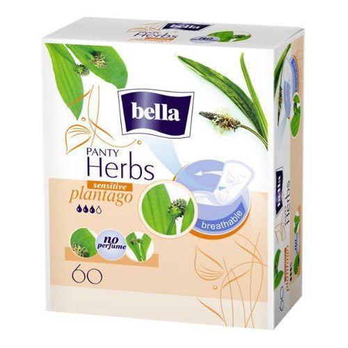 Bella panty herbs plantago sensitive wkładki higieniczne x 60 sztuk marki Tzmo