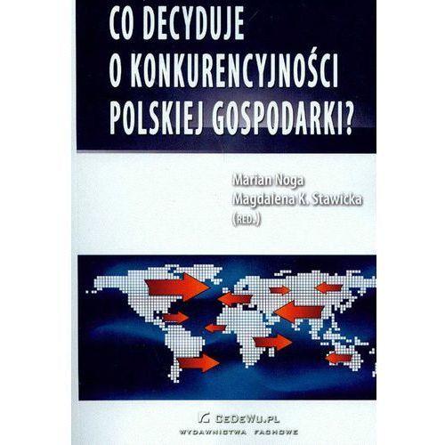 Co decyduje o konkurencyjności polskiej gospodarki (338 str.)