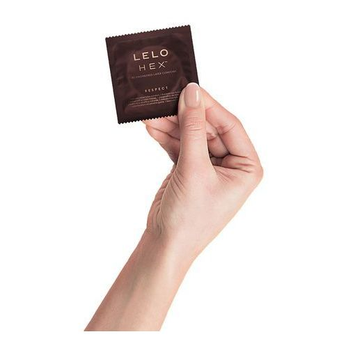 Prezerwatywy nowej generacji - hex condoms respect xl 36 szt marki Lelo