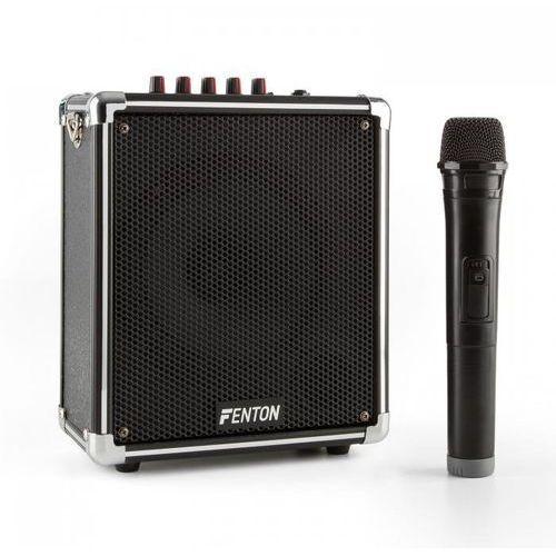 Fenton St040 mobilny zestaw nagłośnieniowy bluetooth usb micro sd mp3 vhf bateria akumulatorowa