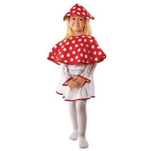 Strój Pani Muchomorek - przebrania dla dzieci, - 122/128 - produkt z kategorii- kostiumy dla dzieci