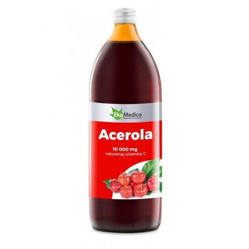 Acerola sok 100% (1 l) EkaMedica, 1695