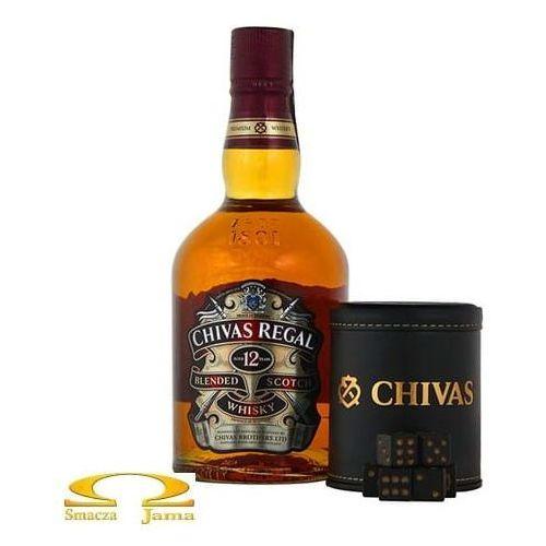 Whisky Chivas Regal 12YO 0,7l + kości do gry
