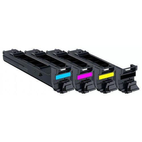 Komplet tonerów zamienników DT4650KPLAM do Minolta MC4600 MC4650 MC4690 MC4695, pasuje zamiast Minolta A0DK151 A0DK451 A0DK351 A0DK251 CMYK, 4000 stron