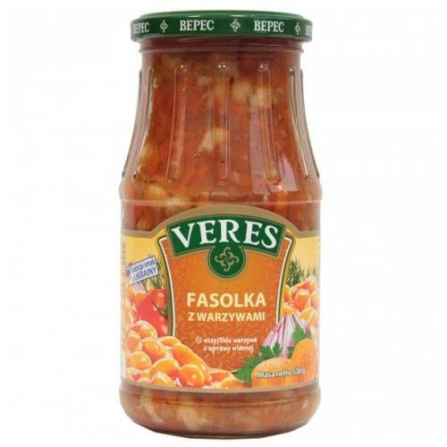 Veres Fasolka z warzywami 530 g