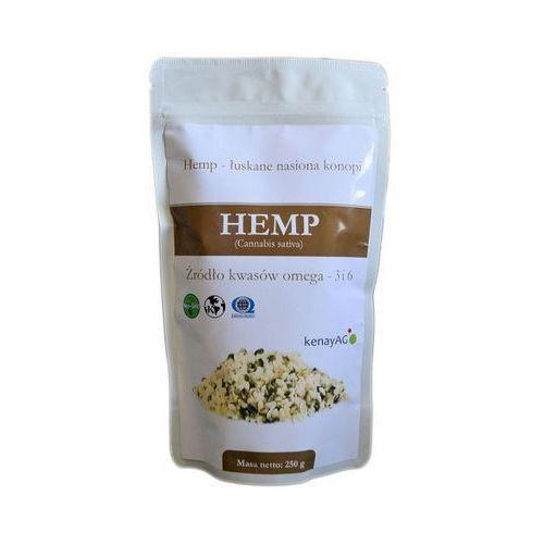 Hemp organiczne łuskane nasiona konopi 250g