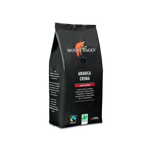Kawa Arabica palona, ziarnista BIO Cafe Crema 1kg, 4000799109331