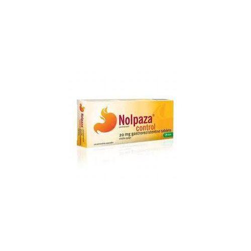 NOLPAZA CONTROL 20mg x 14 tabletek z kategorii pozostałe zdrowie