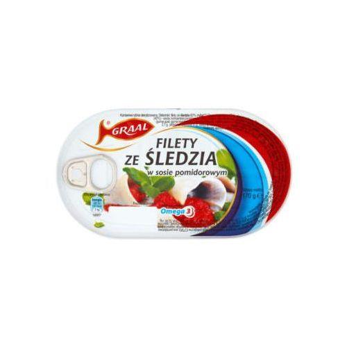 Filety ze śledzia w pomidorach