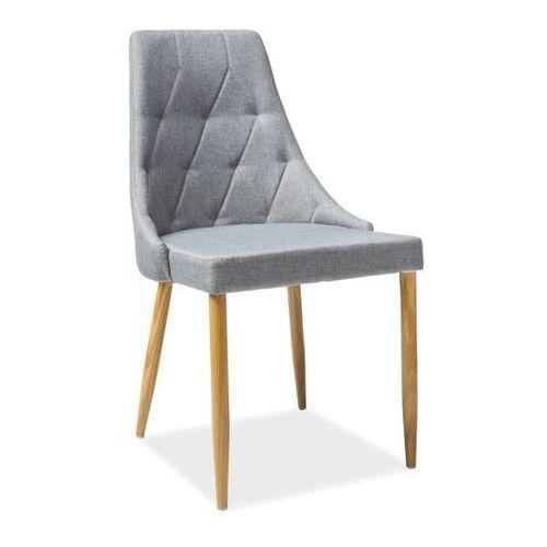 Tapicerowane krzesło do jadalni trix 2 marki Signal