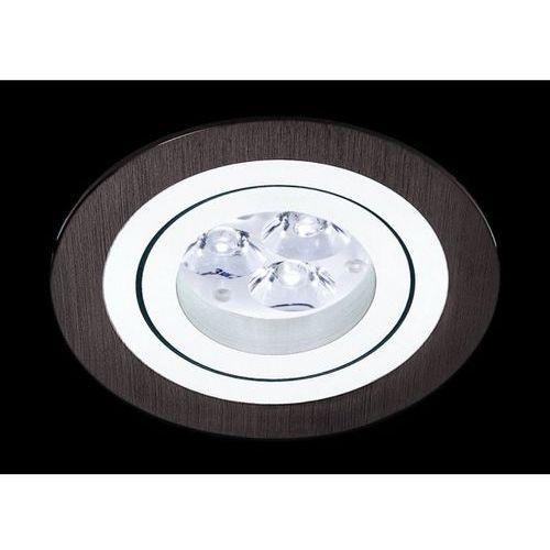 Oczko okrągłe mini catli aluminium szczotkowane czarne led, 3053led1 marki Bpm lighting
