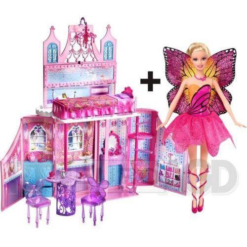 Barbie Bajeczny Domek + Lalka Barbie Mariposa, Mattel z RTV EURO AGD