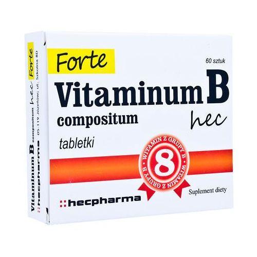 Vitaminum B compositum Hec Forte tabl. 60t (artykuł z kategorii Witaminy i minerały)