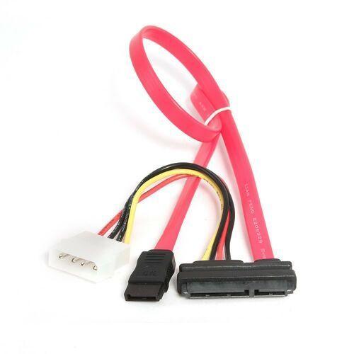 Kabel zasilający Gembird ( SATA combo 0.35m czerwony )- wysyłka dziś do godz.18:30. wysyłamy jak na wczoraj!, CC-SATA-C1