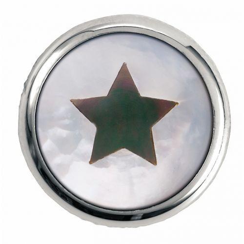 Warwick Regler Knopf,rund 6mm,1,2,3Star, CR gałka potencjometru, round 6mm, 1,2,3Star, CR