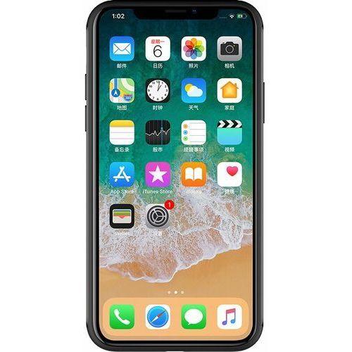Nillkin Fancy Gift Set - zestaw podarunkowy etui + bezprzewodowa ładowarka Qi 10W + kabel 3w1 (USB - micro USB/Lightning/USB-C) iPhone X czarny, 46148 (11199252)