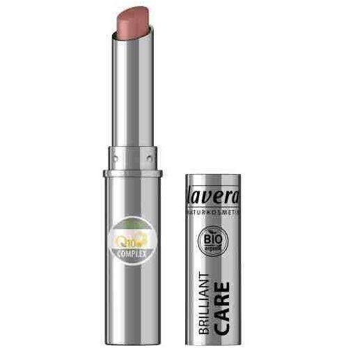 Brilliant care szminka pielęgnacyjna q10 - 08 jasny różowy orzech 1,7g marki Lavera