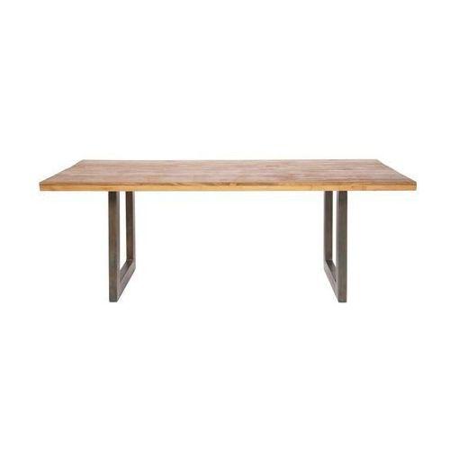 Kare Design Factory Drewniany Stół 200x90cm Drewno Teak delikatnie lakierowane - 74411 - produkt dostępny w sfmeble.pl