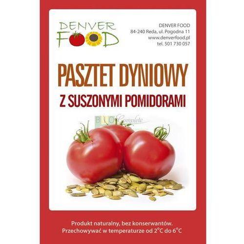 Wegański pasztet dyniowy z suszonymi pomidorami bezglutenowy opakowanie około 210 g marki Denver food