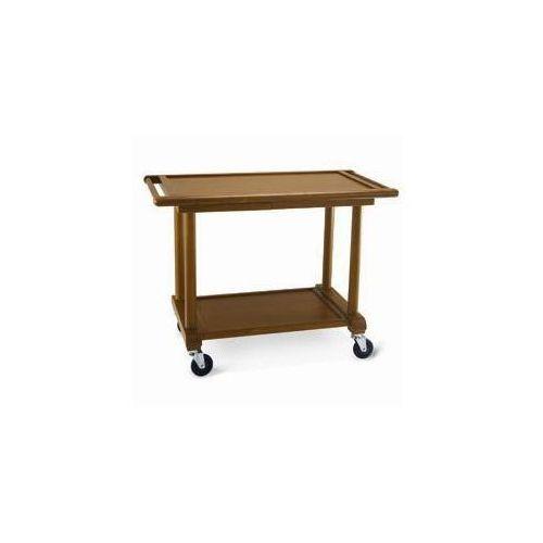 Drewniany wózek 2-półkowy |