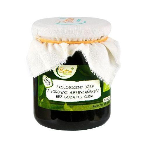 Batom (dżemy, soki, kompoty, czystek) Żż dżem z borówki amerykańskiej b/c bio 260 g - batom (5907709954663)
