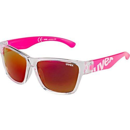 UVEX sportstyle 508 Kids Okulary rowerowe Dzieci różowy 2018 Okulary przeciwsłoneczne dla dzieci (4043197264950)