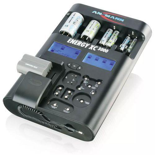 Ładowarka do akumulatorków Ansmann Energy XC3000 5207452, AAA, AA, C, D, 9 V (4013674207459)