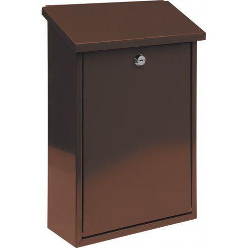 Vorel skrzynka na listy 400 x 250 x 10 – brązowa (78572) - produkt z kategorii- skrzynki na listy