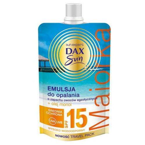 Dax sun emulsja do opalania majorka spf15 50ml marki Dax cosmetics