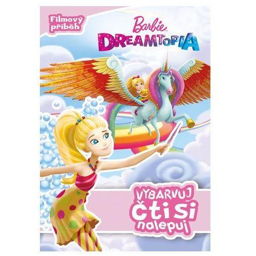 Kolektiv Barbie dreamtopia - vybarvuj, čti si nalepuj (9788025237908)