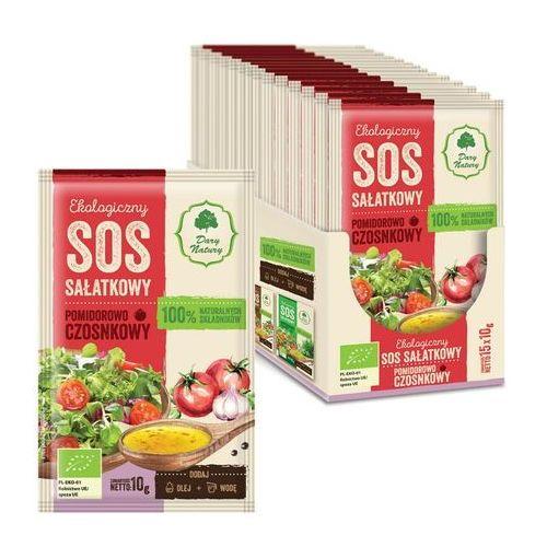 Dary natury - inne bio Sos sałatkowy pomidorowo - czosnkowy bio 10 g - dary natury (5903246861846)