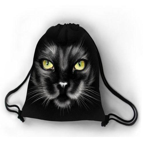 Bertoni Designerski plecak worek kocie oczy - czarny ||szary ||zielony ||biały ||żółty