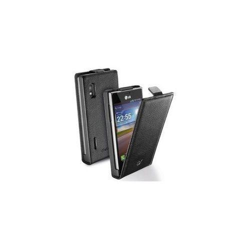 Cellular Line Etui Flap Essential do LG L5 II - czarne (CFLAPESSENLGL5IIBK) Darmowy odbiór w 21 miastach!, kolor czarny