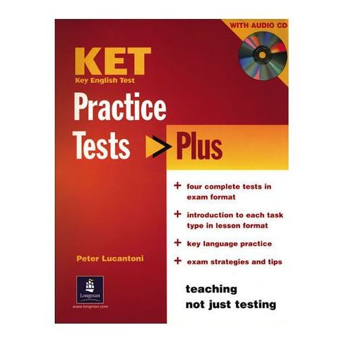 KET Practice Tests Plus Revised Edition Student's Book and Audio CD Pack (128 str.)