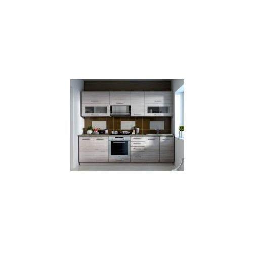 Zestaw kuchenny sonoma szer: 260 cm marki 14