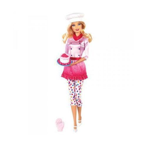 Mattel Lalka Barbie Bądź kim chcesz R4226, mistrzyni cukiernictwa - sprawdź w Mall.pl