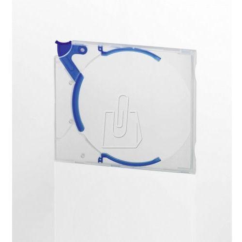 Etui Durable Quickflip Stadard na płytę CD/DVD niebieskie 10 sztuk 5288-06