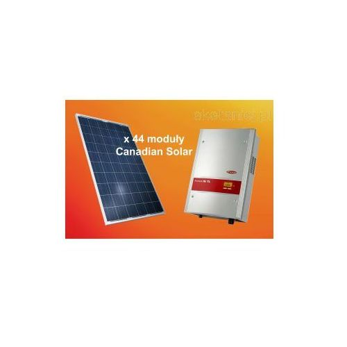 Zestaw ogniw 10.56kW Canadian Solar CS6P-240P + dwa falowniki Fronius IG TL 5.0, kup u jednego z partnerów