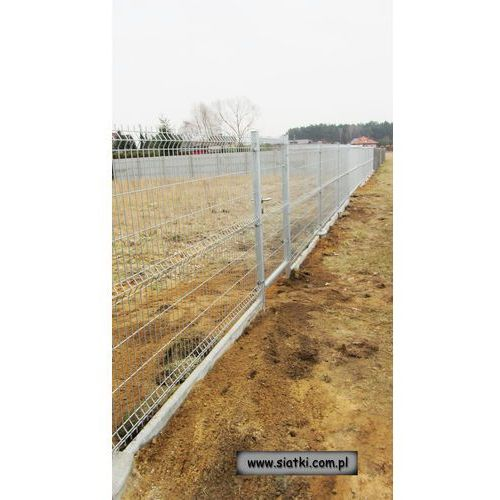 Panel ogrodzeniowy ocynkowany 2W-1000 mm z drutu 4/5 ze sklepu Siatki Janowski
