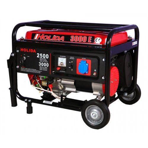 Holida Agregat prądotwórczy, generator 3000 jedna faza z rozruchem el. 3kw