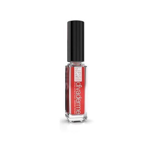 Divaderme lips colori - błyszczyk do ust z pyłem diamentowym: jasny koral 9 ml