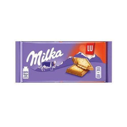Mondelez Milka 87g lu czekolada mleczna z mleka alpejskiego z ciasteczkami