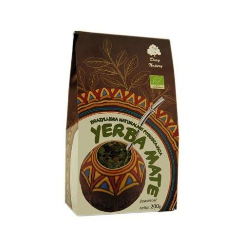 200g yerba mate liściasta bio marki Dary natury