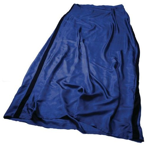 Sea to summit premium silk wkładka long, rectangular niebieski 2018 wkładki do śpiworów